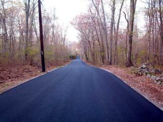 Burgess Road 2008 paving project completed