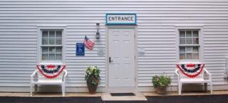 Social Service Department Entrance